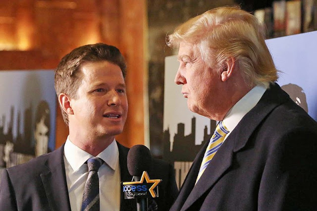 Billy Bush of Today Show  suspended from Today show over lewd comments in leaked Trump tape