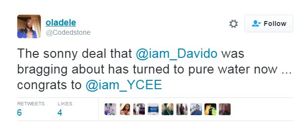 Davido tells a Twitter Troll to just Shut up