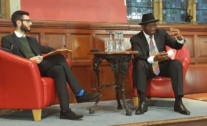 Goodluck Ebele Jonathan says I was elected President to spread wealth, not poverty