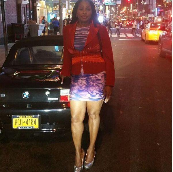 Clarion Chukwurah flaunts hot legs in mini dress