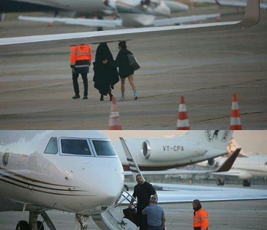 Kim Kardashian West Runs for her life using a Private Jet after Losing $11m worth of Jewelry to Robbers in Paris
