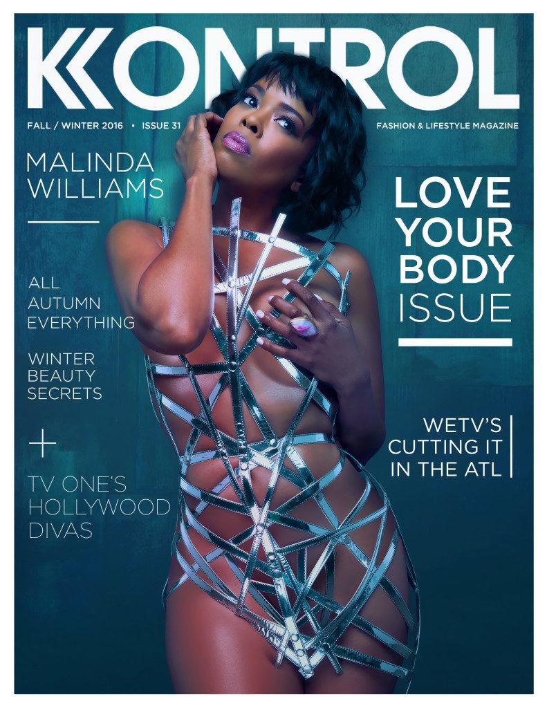 Malinda Williams Goes Full Nude on the cover  of kontrol magazine