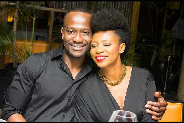 Falling in love is the easiest part but keeping it is truly the task-Nse Ikpe Etim  shares shirtless photo of her hubby