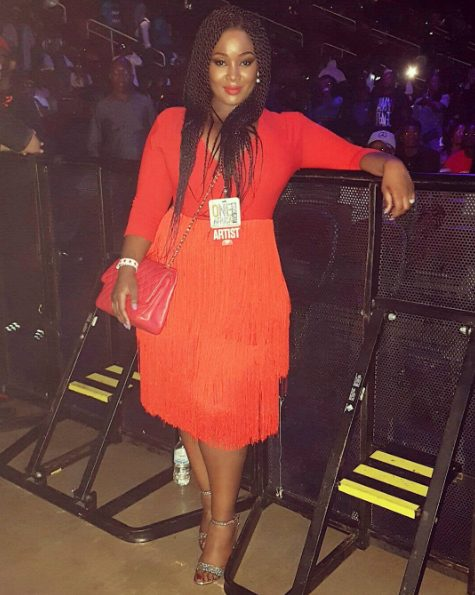 OAP Toolz ditches her Weaves,as she rocks Braids for One Africa Music Fest