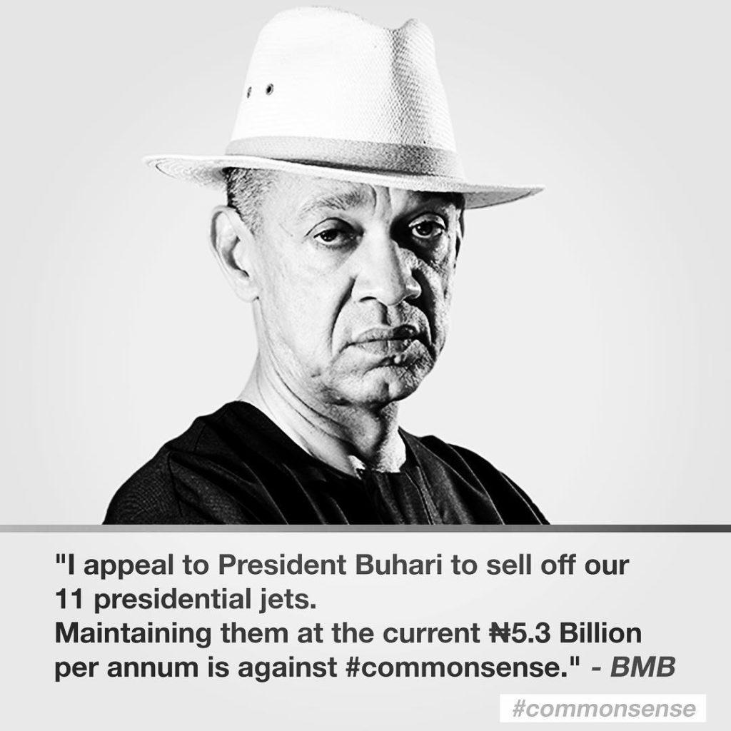 Senator Ben Murray-Bruce Shades Nigerian Politicians
