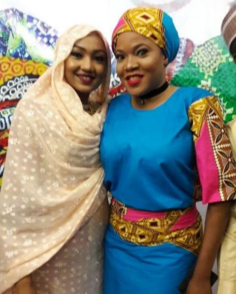 Toyin Aimakhu  Sizzles in New Photos with Zahra Buhari at the Rhythm of Hope Festival of Art and Culture