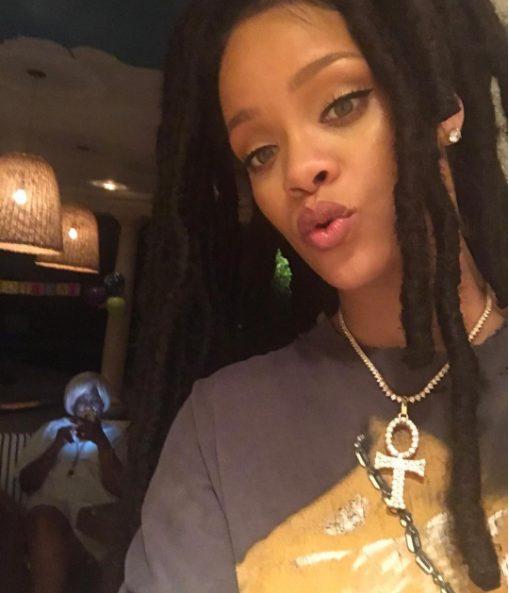 Rihanna's response to photos of her yelling at billionaire boyfriend