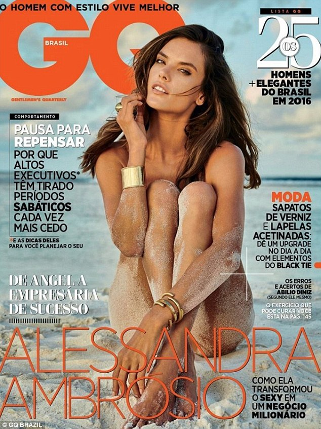 Alessandra Ambrosio goes nude in photoshoot for GQ Brasil