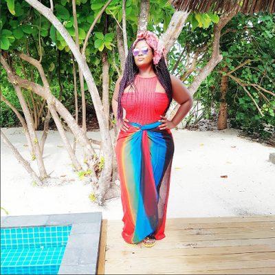 Beat FM OAP Toolz Oniru Demurin and Husband enjoy Vacation at the Maldives