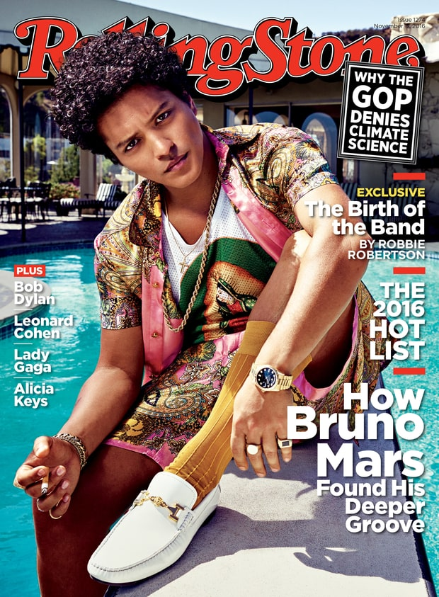 Bruno Mars Rolling Stone Magazine November Issue