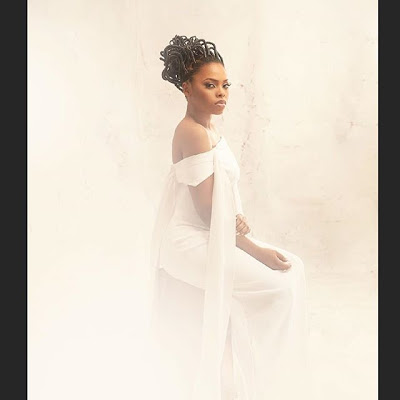 Chidima Ekile Sizzles in Photos for her New Album Fallen in Love