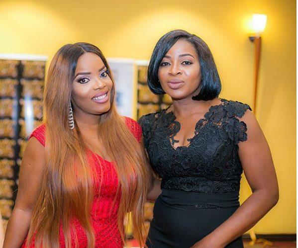 Cossy Ojiakor and Empress Njamah Sexy stuning at event