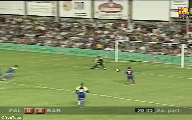 FC Barcelona Releases Video of Lionel Messi's First ever Professional Goal to mark the world Best's 500 Strikes for the Club