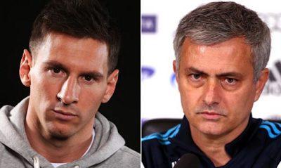Jose Mourinho dismisses Man U's €233m move for star, says 'I hope Messi never leaves Barca'