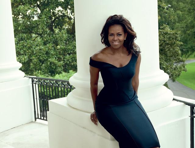 Michelle Obama stuns for Vogue magazine December Issue