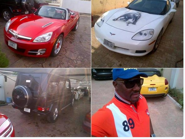 My cars cannot underwrite the recession problems of this country- Senator Dino Melaye