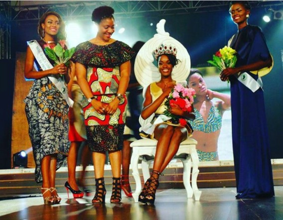 Sexy, Stunning and Gorgeous Neurite Mendes from Angola wins 2016 Miss Africa pagent