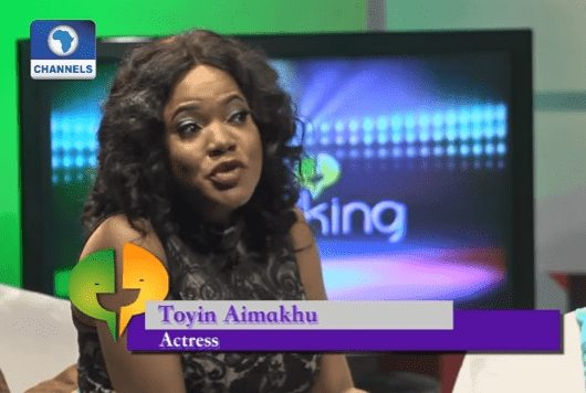 Watch Toyin Aimakhu talk to Channels Television about how she survived the #SaveMayowa PR Fiasco