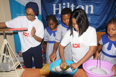 Zahra Buhari engages in charity work in Abuja