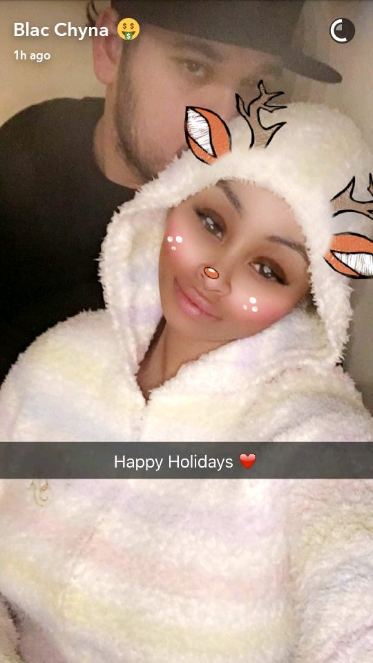 Blac Chyna Spends Christmas With Rob Kardashian amid rumors Kris Jenner wants her gone