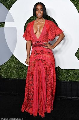 Kelly Rowland  and at GQ Men Of The Year party