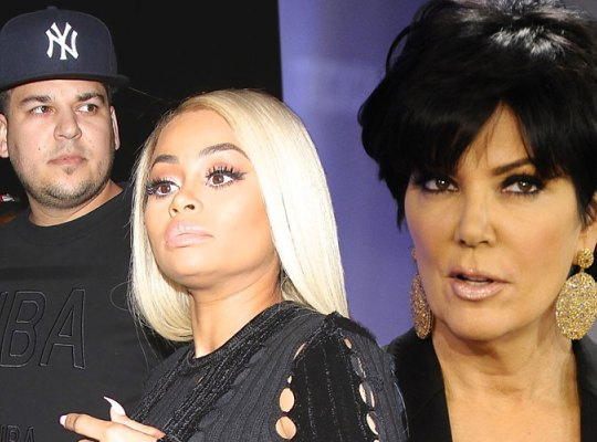 Kris Jenner excludes Blac Chyna from her Christmas party