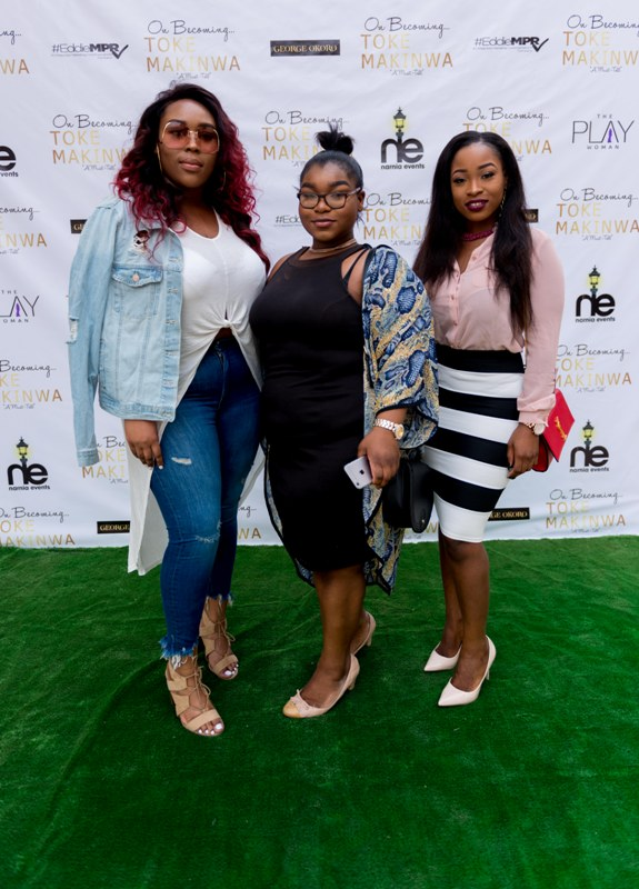 """Photos from Toke Makinwa's """"On Becoming"""" Book Launch in Abuja was so Emotional"""