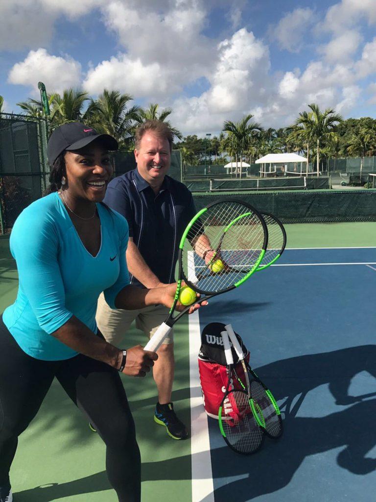Serena Williams Announces her New 2016/2017 Blade SW104  Wilson Tennis Racket