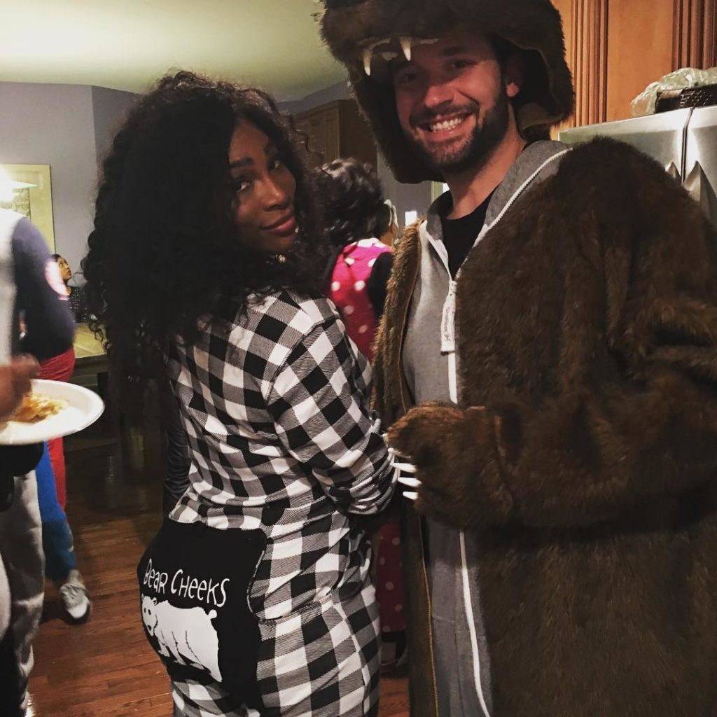 Serena Williams is all about the Bear Necessities