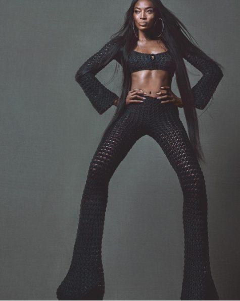 SuperModel Naomi Campbell Covers W Magazine