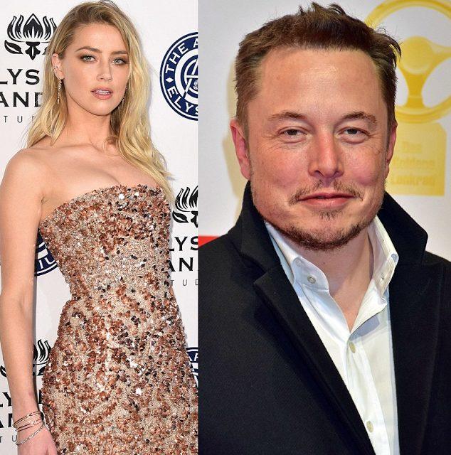 Amber Heard Finds love again in Billionaire Elon Musk following divorce from Johnny Depp
