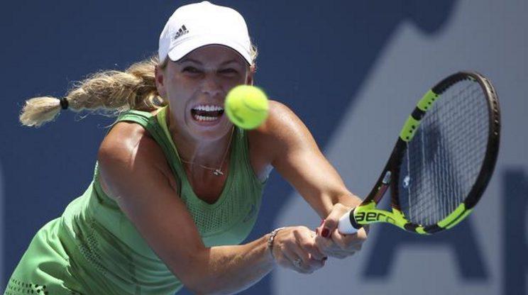 Caroline Wozniacki Losses In 3 Sets 7-5, 6-7 (6), 6-4 To Barbora Strycova