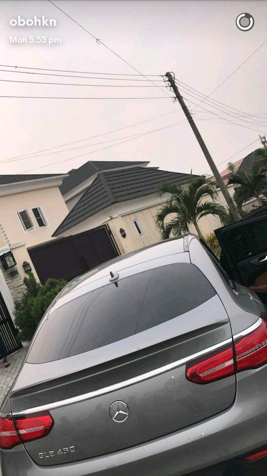 Davido Splashes 22 million naira on a 2017 Mercedes GLE 450 Car