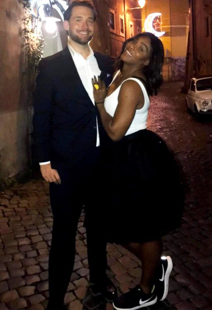 'It Feels Good'-Serena Williams Talks about been engaged to Reddit Co-founder Alexis Ohanian