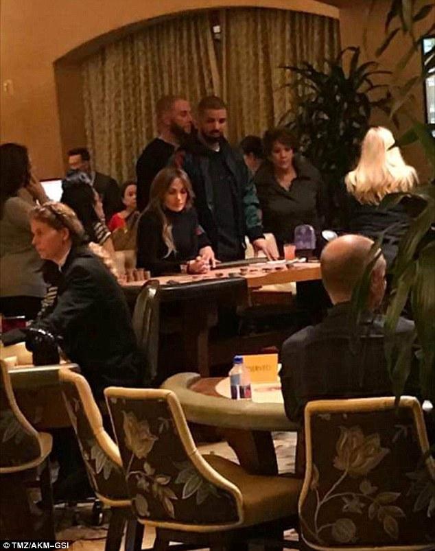 Jennifer Lopez spotted rocking Drake's chain