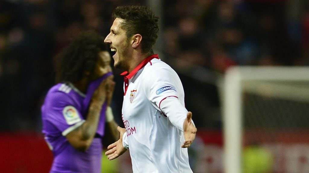 Jovetić Ends Real Madrid 40 Matches Unbeaten with Late Winner as Sevilla Defeat Madrid 2-1