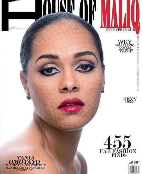 Tania Omotayo and Chioma Akpotha Covers House of Maliq January Magazine Issue