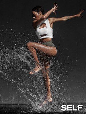 Teyana Taylor Cover SELF Magazine
