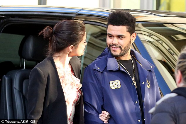 The Weeknd and GF Selena Gomez enjoys Romantic Trip to Florence ,Italy