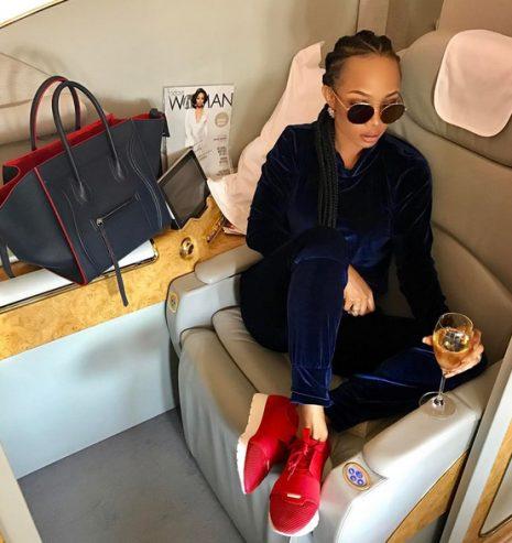 Toke Makinwa, Tiwa Savage, Teebillz, and AKA flies First Class to Dubai and Thailand
