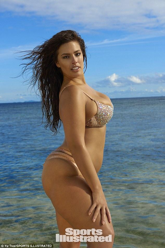 Ashley Graham Flaunts Curves In Tiny Bikini For Sports Illustrated