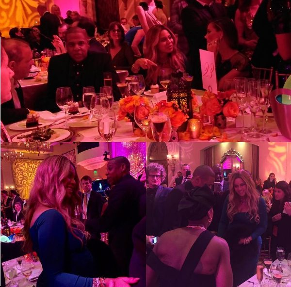 Beyonce and Jay Z attend Pre-Oscars Party with Other Celebrities