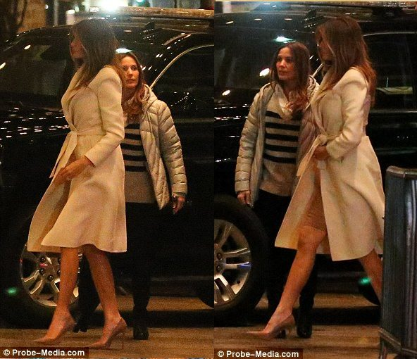 Melania Trump spotted in NYC with her 10-year-old son, Barron