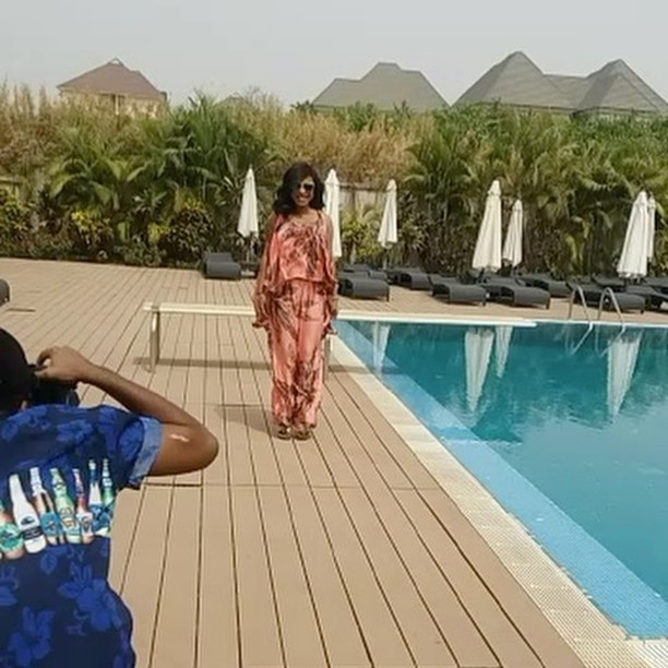 I got no worries, As Tonto Dikeh Says Happiness is Key in New Photoshoot
