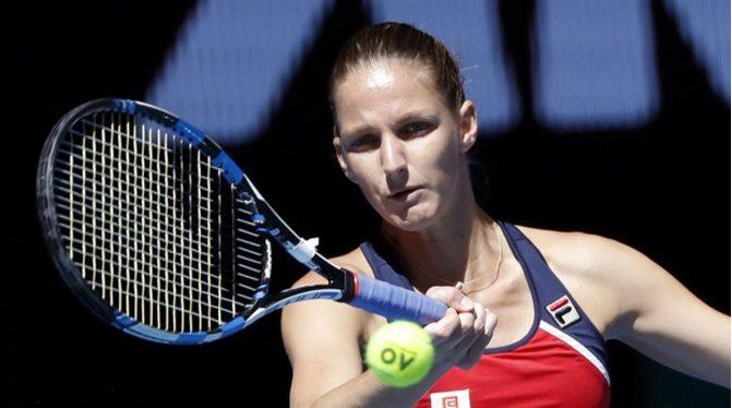 KAROLINA PLISKOVA BEATS CAROLINE WOZNIACKI 6-3,6-4 TO WIN IN DOHA WTA TITLE