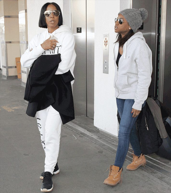 Kelly Rowland Is Also PREGNANT, as  She Just Got UPSTAGED BY BEYONCE AGAIN!!!