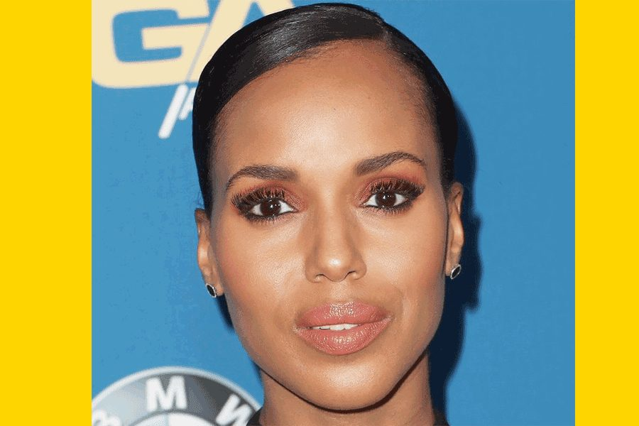 Kerry Washington shows off her Amazing cures in a LBD at the DGA Awards