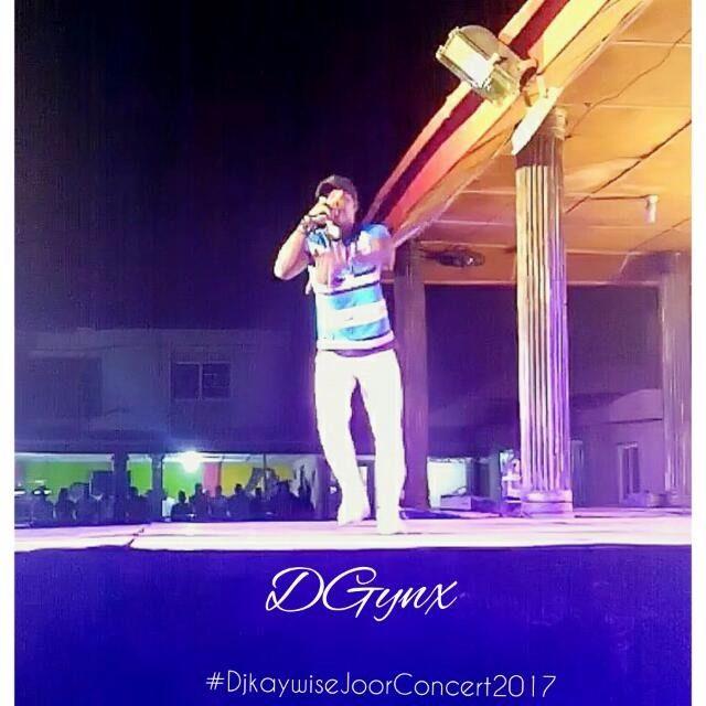 Rapper DGynx shut down the stage At Dj Kaywise JOOR Concert 2017