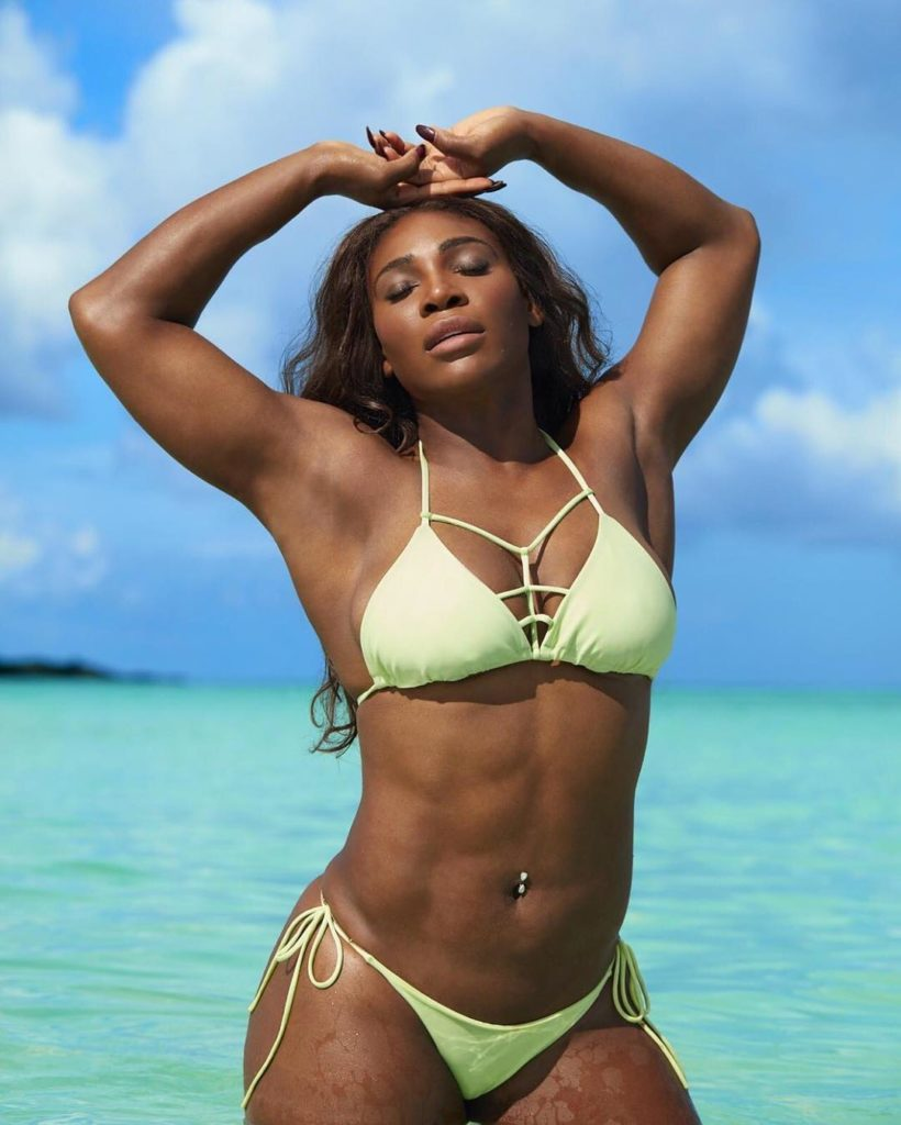 Serena Williams Flaunts her Curves for Sport Illustrated Swimsuit 2017 Magazine Issue