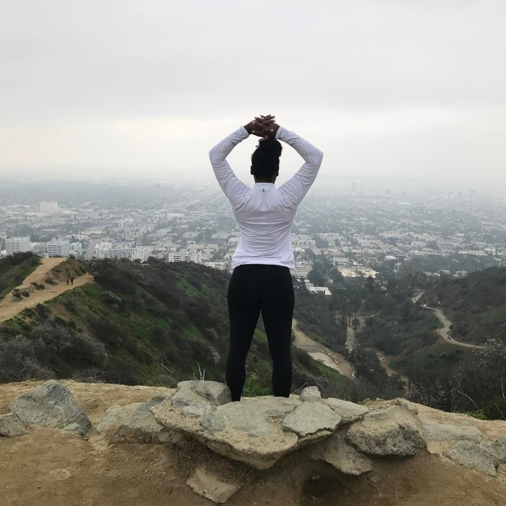 Serena Williams Shared Photo of her View From the Top